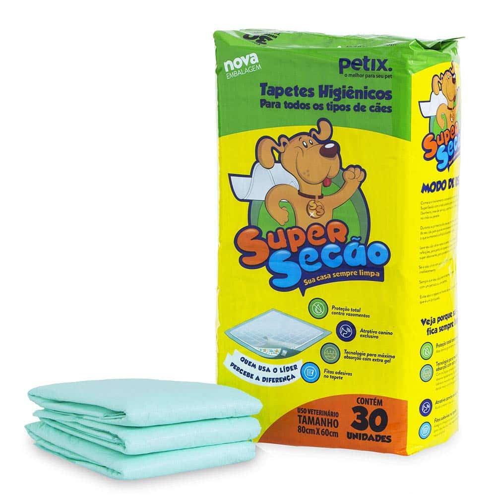 Tapete higiênico para cachorro Super Secão